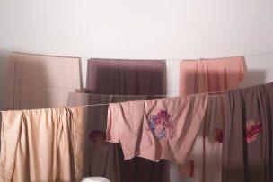 La ropa sucia se lava en casa, 2016 Telas y bordado digital medidas variables